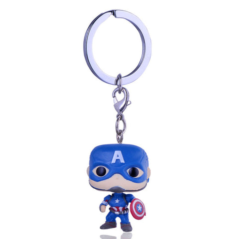 Captain America Funko Keychain - DC Marvel World