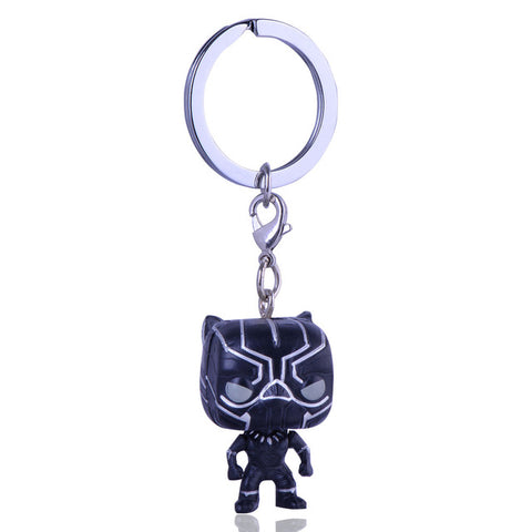 Black Panther Funko Pocket Pop Keychain - DC Marvel World