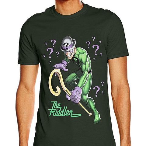 The Riddler Retro Comic T Shirt - DC Marvel World