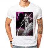 Silver Surfer Universe T Shirt - DC Marvel World