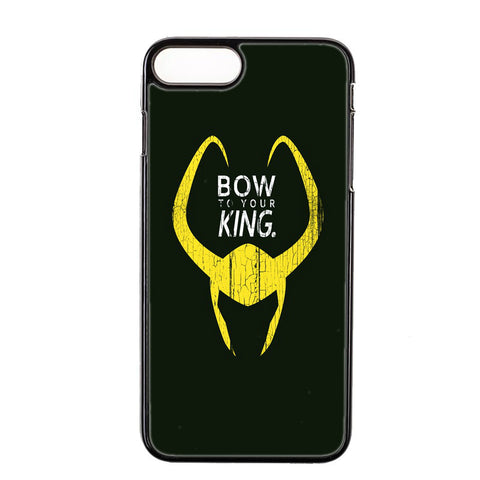 Loki Bow To Your King iPhone Case - DC Marvel World