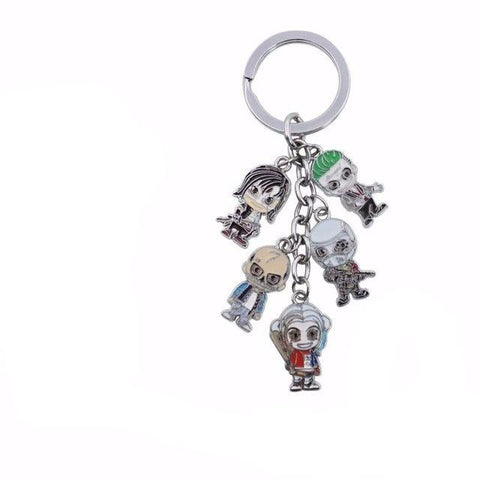 Suicide Squad Mini Keychain - DC Marvel World