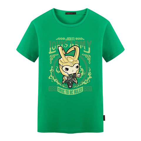 Loki Made To Be Ruled T Shirt - DC Marvel World