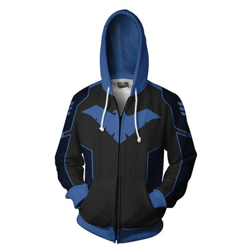 Nightwing Cosplay Hoodie - DC Marvel World