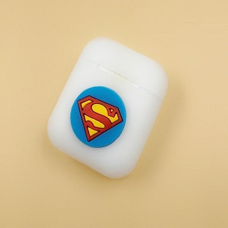 Superman Silicone Case For Apple Airpods - DC Marvel World