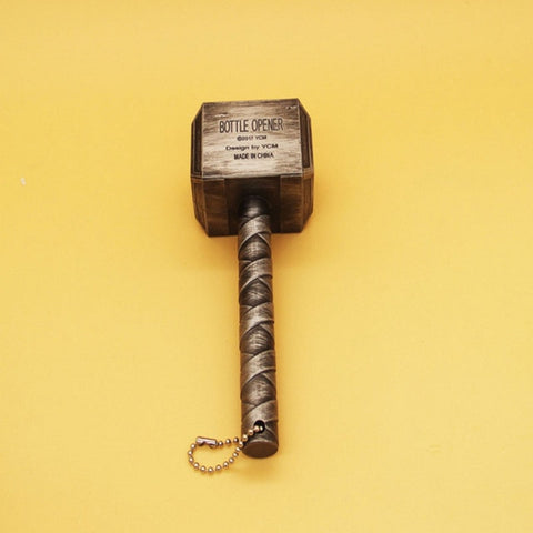 Hammer Of Thor mjolnir Bottle Opener - DC Marvel World