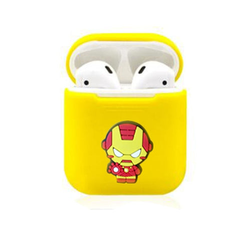 Iron Man Silicone Case For Apple Airpods - DC Marvel World