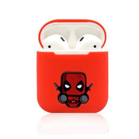 Deadpool Silicone Case For Apple Airpods - DC Marvel World