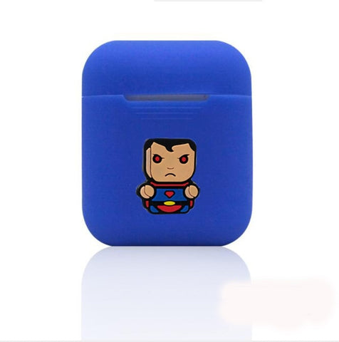 New Superman Silicone Case For Apple Airpods - DC Marvel World