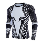 Aquaman Long Sleeve Compression T Shirt - DC Marvel World