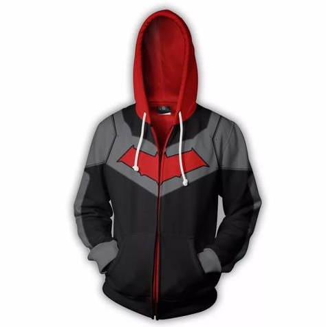 Red Hood Cosplay Hoodie - DC Marvel World