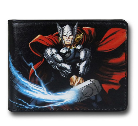 Thor Hammer Swing Bi-Fold Wallet - DC Marvel World
