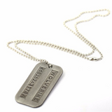 Wolverines Dog Tag Pendant - DC Marvel World