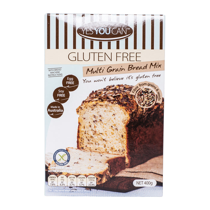 Gluten Free Multi Grain Bread Mix