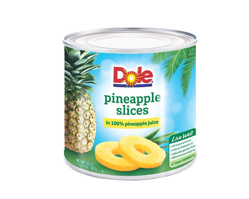Fancy Pineapple Slices in 100% Pineapple Juice