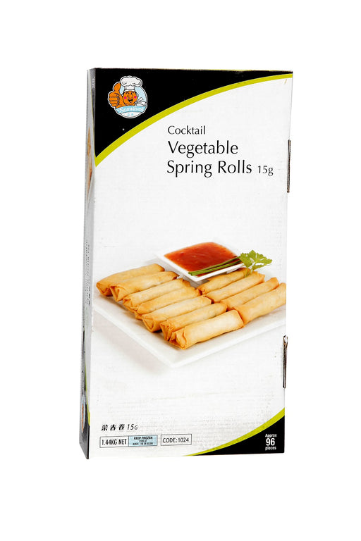 Seawaves Vegetable Spring Roll 96pcs