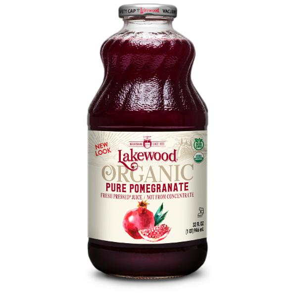 Lakewood Juice Pomegranate Pure Gluten Free Organic