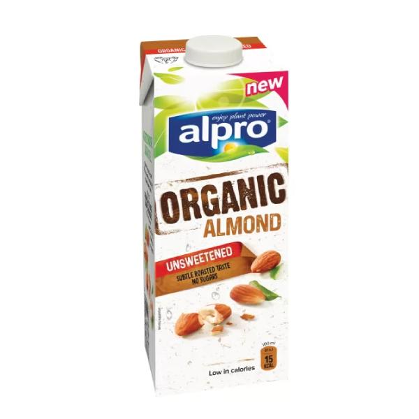 Alpro Almond Milk Fresh Unsweetened