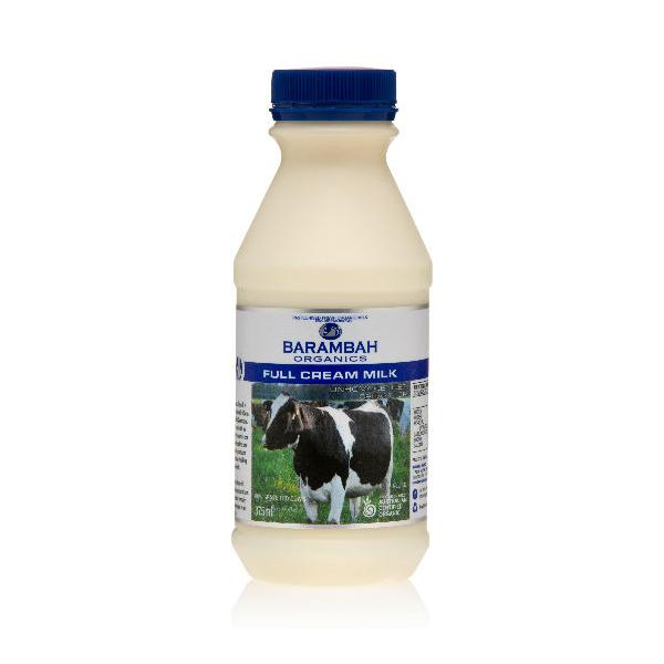 Barambah Organics Full Cream Milk