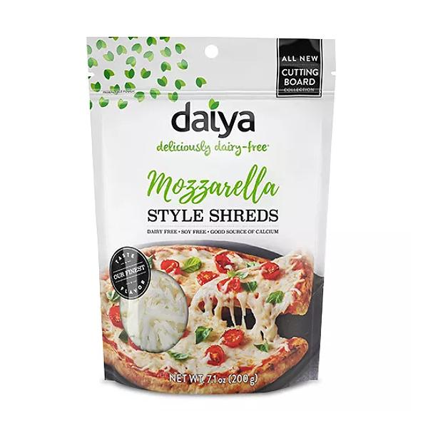 Daiya Cheese Shreds Cutting Board Mozzarella Dairy Free Gluten Free