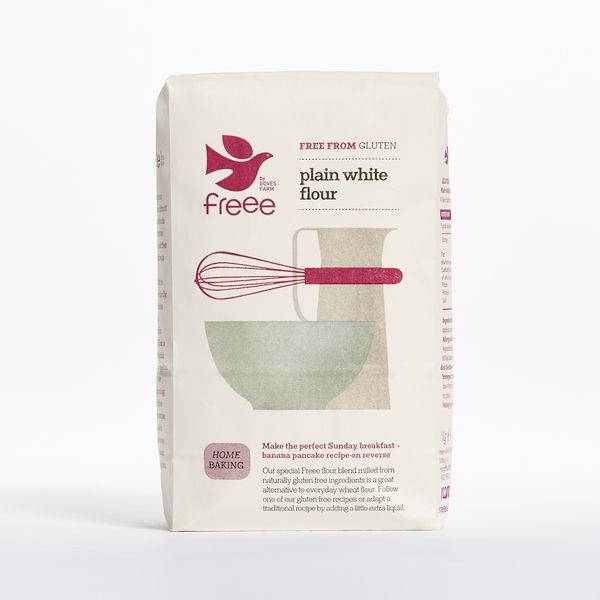Doves Farm Free Flour White Plain Blend Gluten Free