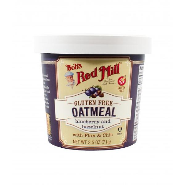 Bob's Red Mill Oatmeal Cup Blueberry  & Hazelnut Gluten Free
