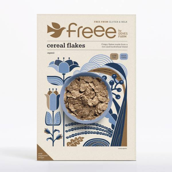 Doves Farm Free Cereal Flakes Gluten Free Organic