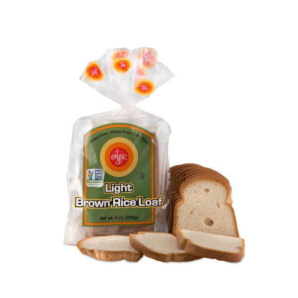 Ener G Bread Brown Rice Light Loaf Gluten Free