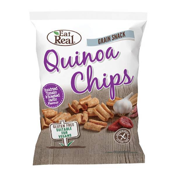 Eat Real Chips Quinoa Sundried Tomato & Roasted Garlic
