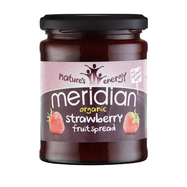 Meridian Spread Strawberry Gluten Free Organic