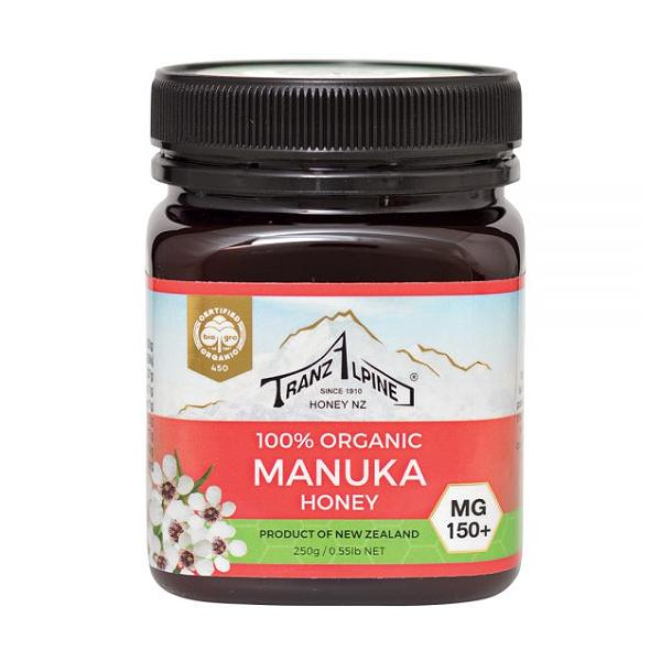 Tranzalpine Honey Manuka Honey Mg150+ Organic