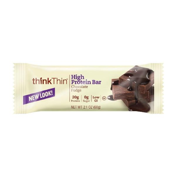 Think Thin Bar Chocolate Fudge Gluten Free