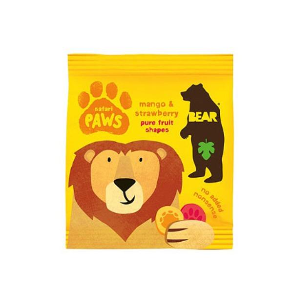 Bear Yo Yo Candy Safari Paws Mango Strawberry Gluten Free