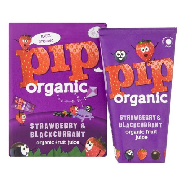 Pip Kids Strawberry Blackcurant Juice Organic