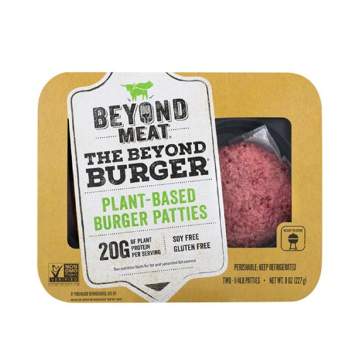 Beyond Meat Plant Based Burger Patties Gluten Free (Frz)