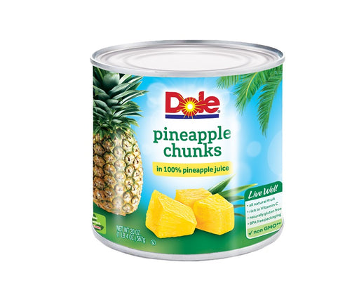 Fancy Pineapple Chunks in 100% Pineapple Juice