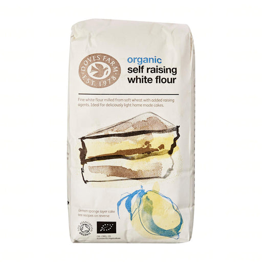 Doves Farm Organic White Self Raising Flour Unbleached