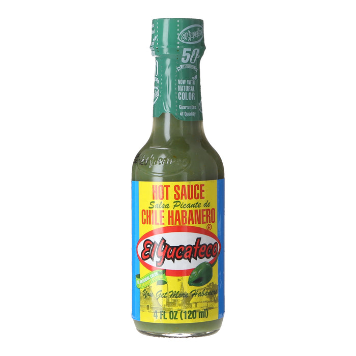 El Yucateco Green Habanero Hot Sauce