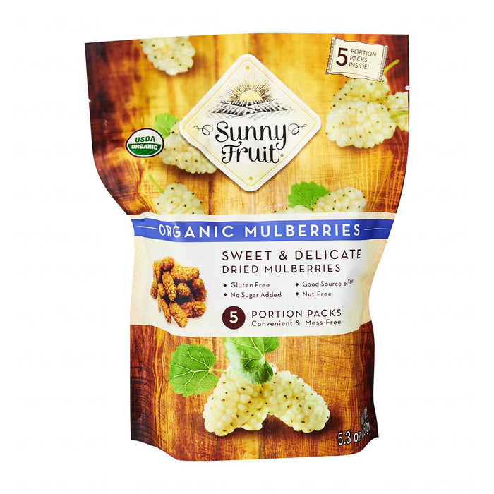 Sunny Fruit Organic - Assorted Dried Fruits (5 packs)
