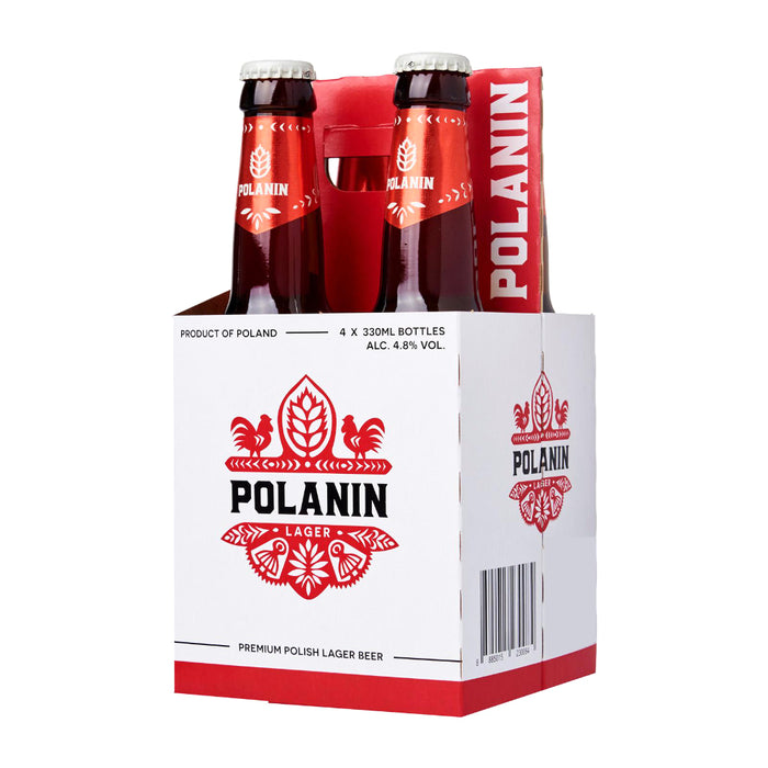 POLANIN Lager 4 pack (case of 6)