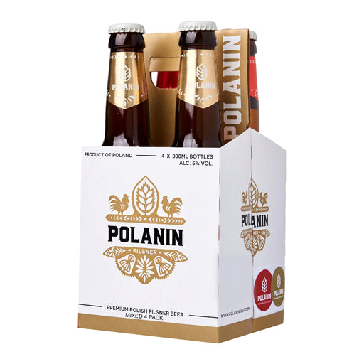 POLANIN Mixed Party 4 pack (case of 6)