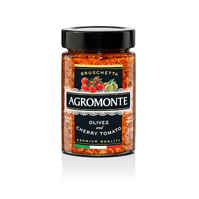 Agromonte Bruschetta of Olives & Cherry Tomato - 200g