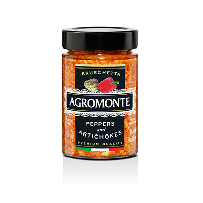 Agromonte Bruschetta of Peppers & Artichokes - 200g