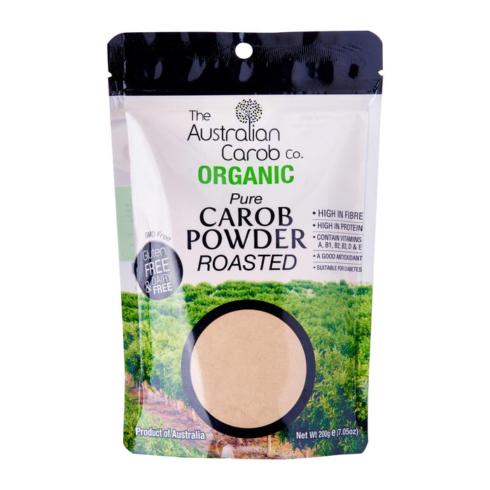 The Australian Carob Co Organic Carob Powder Roasted
