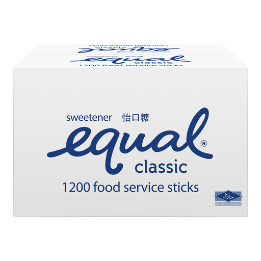 Equal Classic Sweetener Sachet Catering 1200s