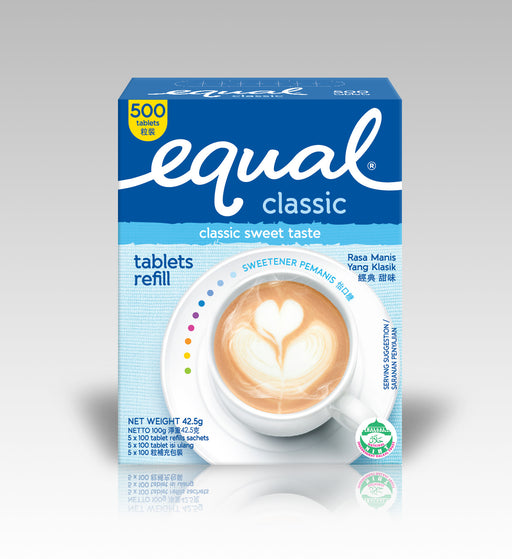 Equal Classic Sweetener Tablet 500s (Refill)