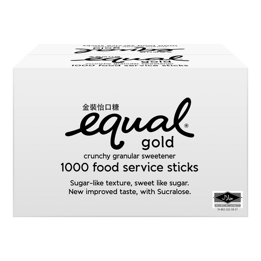 Equal Gold Sucralose Sweetener Catering 1000s