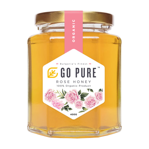 Organic Rose Honey 400G