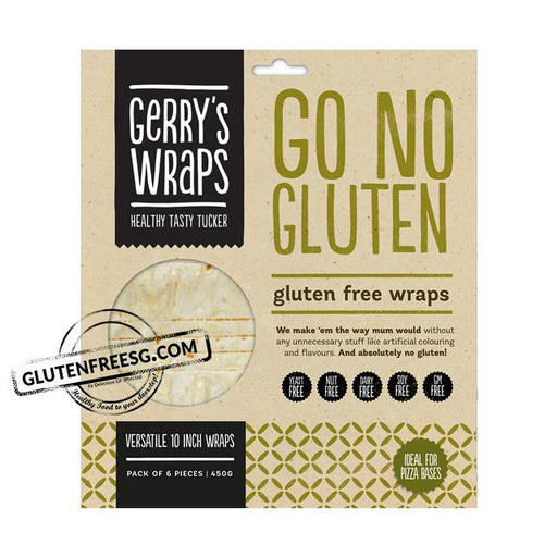 Gerry's Go No Gluten 10-inch Wrap (450g)
