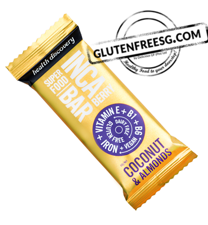 Health Discovery Inca Berry, Coconut & Almonds Bar (40g)